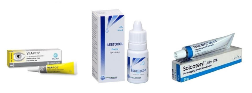 Eye drops for keratoconus treatment